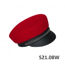 S21.08W - Sewn cap with a...